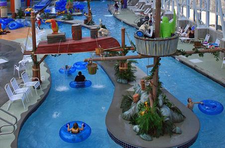 Big Splash Adventure Indoor Waterpark & Resort French